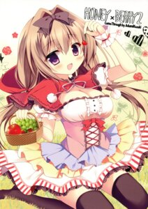 Rating: Safe Score: 41 Tags: azumi_kazuki cleavage come_through thighhighs User: Mr_GT