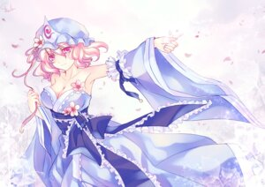 Rating: Safe Score: 14 Tags: cleavage saigyouji_yuyuko skade touhou User: Mr_GT