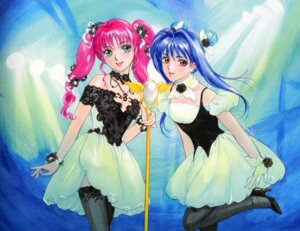 Rating: Safe Score: 8 Tags: dress fancy_lala mahou_no_stage_fancy_lala takada_akemi thighhighs User: Radioactive