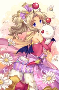 Rating: Safe Score: 38 Tags: animal_ears final_fantasy final_fantasy_vi heels lyric moogle nekomimi pantyhose tina_branford weapon wings User: fairyren