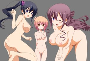 Rating: Explicit Score: 72 Tags: ass breast_hold feet hannen_hiroe ichinose_hana kyouzuka_shion naked nipples pussy shouji_shou slow_start transparent_png uncensored vector_trace User: Masutaniyan