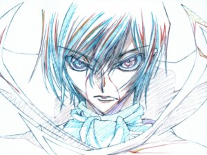 Rating: Safe Score: 12 Tags: code_geass lelouch_lamperouge male sketch User: Dunkel_liebe
