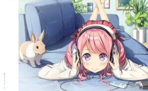 Rating: Safe Score: 25 Tags: headphones kantoku kurumi_(kantoku) sweater User: Twinsenzw