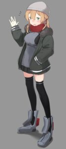 Rating: Safe Score: 11 Tags: kantai_collection prinz_eugen_(kancolle) tagme thighhighs uniform User: Radioactive