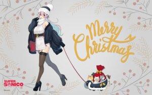 Rating: Questionable Score: 24 Tags: christmas dress headphones heels neko sonico stockings super_sonico sweater thighhighs tsuji_santa wallpaper User: ManaAlchemist