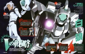 Rating: Safe Score: 2 Tags: bodysuit chiba_michinori genoace_custom gun gundam gundam_age gundam_age-1_normal male mecha ootsuka_ken wolf_eniacl User: harimahario