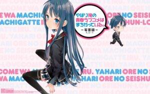 Rating: Safe Score: 48 Tags: chibi kazuki_rechi seifuku thighhighs wallpaper yahari_ore_no_seishun_lovecome_wa_machigatteiru. yukinoshita_yukino User: blooregardo