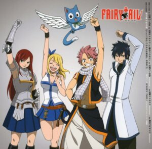 Rating: Safe Score: 25 Tags: armor cleavage disc_cover erza_scarlet fairy_tail gray_fullbuster happy_(fairy_tail) lucy_heartfilia natsu_dragneel neko open_shirt tattoo wings User: Radioactive