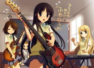 Rating: Safe Score: 18 Tags: akiyama_mio guitar hirasawa_yui kankurou k-on! kotobuki_tsumugi seifuku tainaka_ritsu User: Radioactive