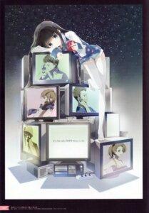 Rating: Safe Score: 53 Tags: cleavage kamisama_no_memochou megane shionji_yuuko thighhighs tiv User: yong