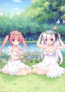 Rating: Safe Score: 40 Tags: canvas+garden cleavage dress miyasaka_miyu niwasaka_rira no_bra shionomiya_richer summer_dress User: kiyoe