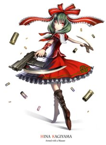 Rating: Safe Score: 23 Tags: gia gun kagiyama_hina touhou User: SciFi