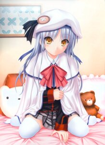 Rating: Safe Score: 12 Tags: angel_beats! cosplay key kud_wafter little_busters! na-ga noumi_kudryavka seifuku skirt_lift tenshi thighhighs User: marechal
