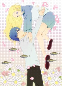 Rating: Safe Score: 21 Tags: arakawa_under_the_bridge harimoji ichinomiya_kou nino_(arakawa) User: Radioactive