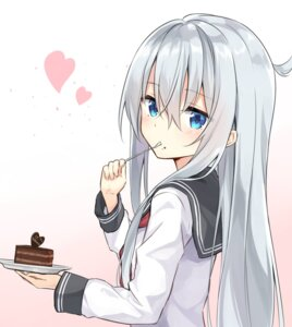 Rating: Safe Score: 75 Tags: azure0608 hibiki_(kancolle) kantai_collection seifuku valentine User: nphuongsun93