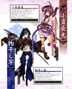 Rating: Safe Score: 17 Tags: azuki_nagamitsu chobipero garter japanese_clothes monohoshizao sword tenka_hyakken yucca-612 User: drop