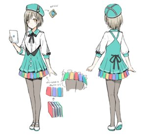 Rating: Questionable Score: 12 Tags: character_design hiten kakuyomu pantyhose sketch User: zyll