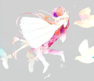 Rating: Safe Score: 10 Tags: dress kyama wings User: charunetra