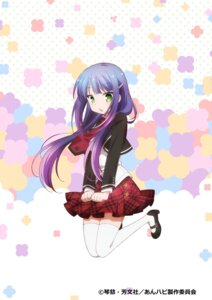 Rating: Safe Score: 32 Tags: anne_happy heels hibarigaoka_ruri seifuku thighhighs User: vita