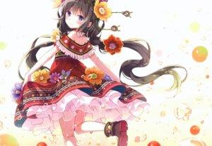 Rating: Questionable Score: 33 Tags: dress neko_no_onsen nyanya see_through skirt_lift User: Radioactive