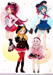 Rating: Safe Score: 11 Tags: dress heels miki_sayaka momoe_nagisa puella_magi_madoka_magica sakura_kyouko seifuku sweater tagme thighhighs tomoe_mami User: Spidey