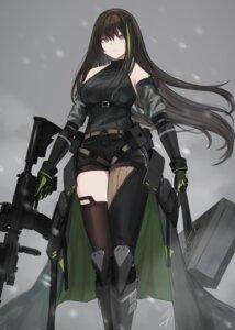 Rating: Safe Score: 38 Tags: armor girls_frontline gun hayabusa m4a1_(girls_frontline) thighhighs User: Mr_GT