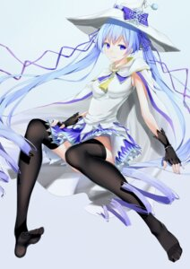Rating: Safe Score: 45 Tags: hatsune_miku thighhighs u.n.k. vocaloid yuki_miku User: pikeng89