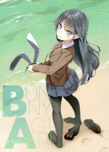 Rating: Safe Score: 35 Tags: animal_ears bunny_ears mizoguchi_keiji ntype pantyhose sakurajima_mai seifuku seishun_buta_yarou_series User: kiyoe