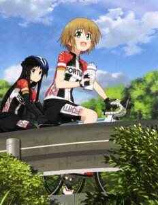 Rating: Safe Score: 25 Tags: bike_shorts kurata_ami long_riders! niigaki_aoi User: drop