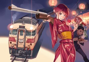 Rating: Safe Score: 17 Tags: gun rail_wars! vania600 yukata User: kiyoe