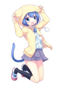 Rating: Safe Score: 45 Tags: animal_ears mani nekomimi onka tail User: SciFi