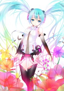 Rating: Safe Score: 50 Tags: hatsune_miku koi miku_append thighhighs vocaloid vocaloid_append User: Radioactive