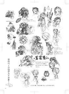 Rating: Questionable Score: 2 Tags: dress horns mecha monochrome sketch tagme tsukushi_akihito User: Radioactive