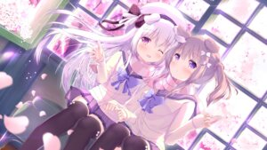 Rating: Safe Score: 89 Tags: marron_(shiratama) seifuku shiroi_inu thighhighs unwitherer User: edogawaconan