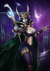 Rating: Questionable Score: 22 Tags: armor cleavage cosplay league_of_legends leblanc open_shirt sg_fremontbar stockings thighhighs weapon User: mash