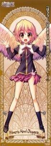 Rating: Safe Score: 14 Tags: filmeria_howl_okyupete_papathanassiou score stick_poster wings yatsuha_kanan zettai_maou User: Gekisoku