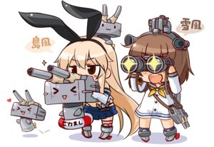 Rating: Safe Score: 40 Tags: chibi kantai_collection okitakung rensouhou-chan shimakaze_(kancolle) yukikaze_(kancolle) User: fairyren