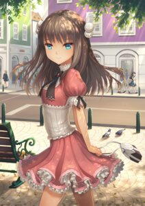 Rating: Safe Score: 59 Tags: business_suit dress heels lan_xing_luren neko User: KazukiNanako
