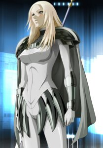 Rating: Safe Score: 10 Tags: armor bodysuit claymore miria User: Radioactive