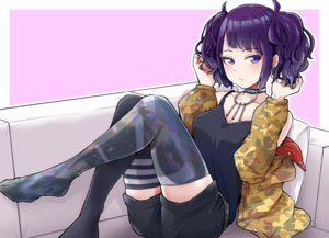Rating: Safe Score: 24 Tags: cleavage feet tanaka_mamimi the_idolm@ster the_idolm@ster_shiny_colors thighhighs tokufumi User: Mr_GT