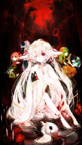 Rating: Questionable Score: 40 Tags: blood bloomers charlotte_(puella_magi_madoka_magica) guro juexing kyubey puella_magi_madoka_magica User: Radioactive
