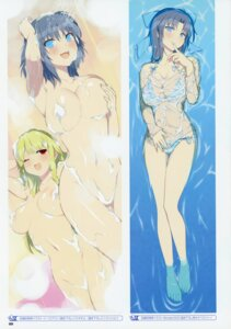 Rating: Questionable Score: 22 Tags: areola bathing bikini breast_hold naked see_through senran_kagura senran_kagura:_peach_beach_splash swimsuits wet wet_clothes yaegashi_nan yumi_(senran_kagura) User: kiyoe