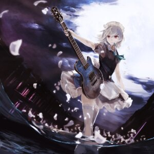 Rating: Safe Score: 42 Tags: guitar izayoi_sakuya jq thighhighs touhou User: Mr_GT