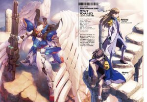 Rating: Safe Score: 11 Tags: gun gundam gundam_wing heero_yuy mecha profile_page relena_peacecraft uniform wing_gundam_zero User: koo35