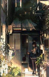 Rating: Safe Score: 65 Tags: kukka landscape neko seifuku User: saemonnokami