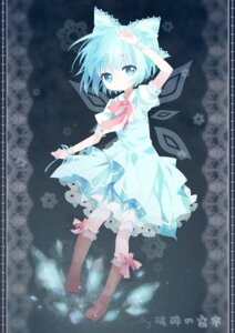 Rating: Safe Score: 27 Tags: cirno curtain dress touhou wings User: Radioactive