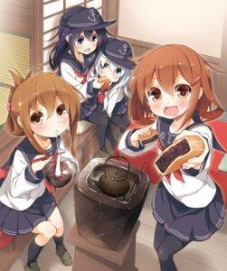 Rating: Safe Score: 36 Tags: akatsuki_(kancolle) hibiki_(kancolle) ikazuchi_(kancolle) inazuma_(kancolle) kantai_collection pantyhose yume_no_owari User: fairyren