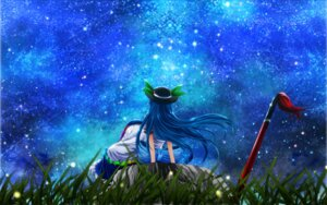 Rating: Safe Score: 11 Tags: hinanawi_tenshi nekominase sword touhou wallpaper User: Konngara