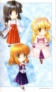 Rating: Safe Score: 5 Tags: chibi kimizuka_aoi miko screen User: Davison