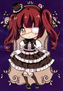 Rating: Safe Score: 11 Tags: chibi dress eyepatch fukunoren gothic_lolita jashin-chan_dropkick lolita_fashion tagme yukiwo User: kiyoe
